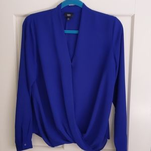 Mossimo Electric Blue Top